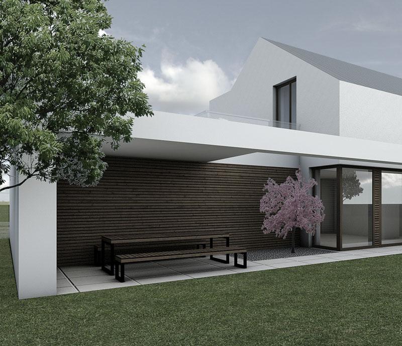 CIS_nowoczesny dom pod lasem